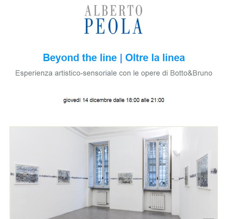 Esperienza Artistico-sensoriale Beyond the line