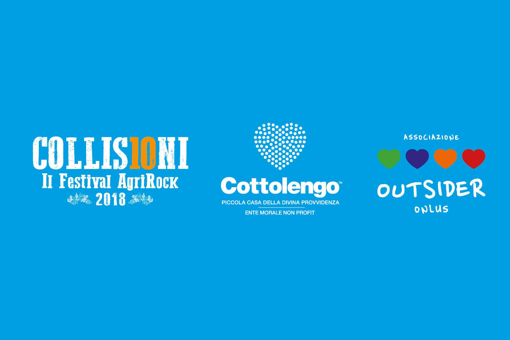 Outsider e Cottolengo insieme a COLLISIONI 2018